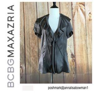 🌸NWT BCBG MaxAzaria silk top/blouse size M